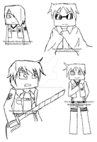 Team Crafted - SNK (( SKETCH )) by The-Doodle-Ninja