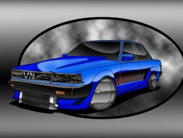 toyota cressida toon by vnsupreme