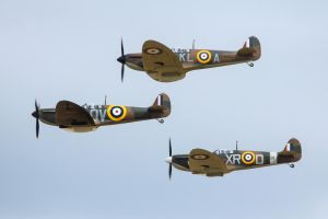 Spitfire Mk.Ia Trio by Daniel-Wales-Images