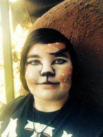 Deer Makeup First Attempt by Literature-4-All