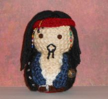 Jack Sparrow Amigurumi Doll by Craftigurumi