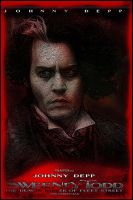Sweeney Todd Movie Poster VII by Rickbw1