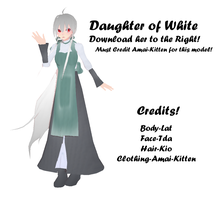 Daughter of White (Amai) by amai-kitten