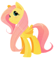 Cut Out Fluttershy by EllisArts