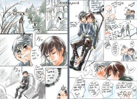 ROTG Doujinshi - Naughty Kid Series #6 Train by BonBonPich