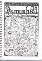 Demokin Grimoire Title Page by unrested
