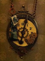 SteamPunk Maiden Necklace by NenaPerrill