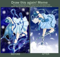 Draw this again meme by sakura-muffins