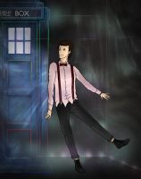 The Doctor and his TARDIS by Kathrin256