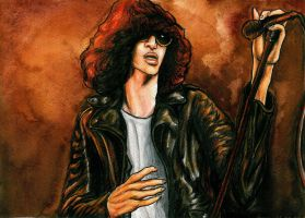 Joey Ramone by Sass-Haunted
