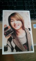 My Onew Custom Made Photocard by SungminHiroto