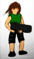 Iji colored by BlackMage1234