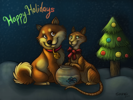 Christmas Card 2011 by bawky