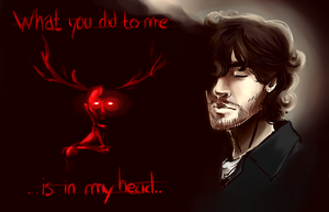 What you did to me... - HANNIBAL by Archetype-Raven