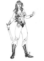 MS DCnU Wonder Woman by JeanSinclairArts