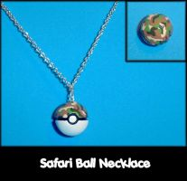 Safari Ball Necklace Charm by YellerCrakka