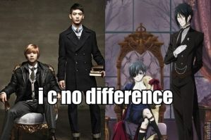 Kpop Macro Of The Day - SHINee And Black Butler by IShizMyPantsOnFire