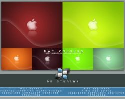 Mac Colours Reds n Greens by DigitalPhenom