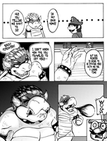 The Candle: A Bowser/Peach Doujin: [Page 9] by KichiMiangra