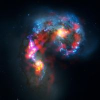 Antennae Galaxies by jswis