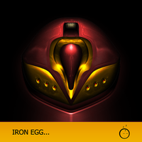 IRON EGG by ZelnickDesigns