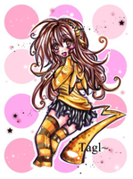 Cute Pikachu Girl by tagl