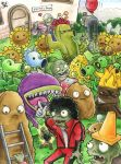 Plants vs Zombies by Merinid-DE