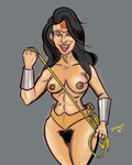 Island Wonder Woman by Underguyerotica