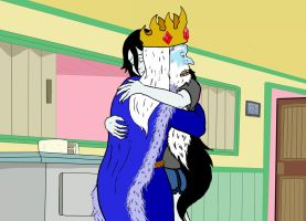 Ice King and Vampire Queen by Razmere