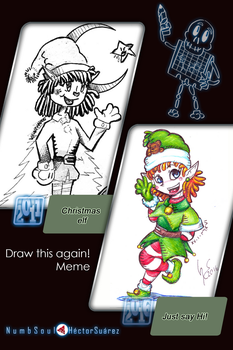 Numbsoul's Draw this again! Meme 2016 by Numbsoul