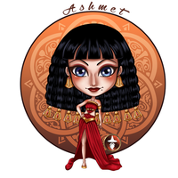 Gift: Ashmet for Orpheelin by White-Magician