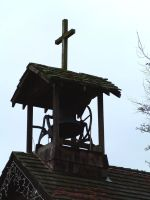 Church steeple side view by JensStockCollection
