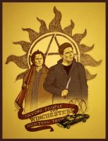 Winchesters by orangeregine