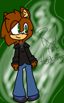 Ryder the hedgehog! by knuckxadelover