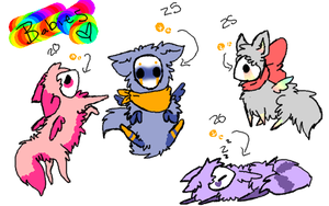 selectic pups adopts by alinoravanity