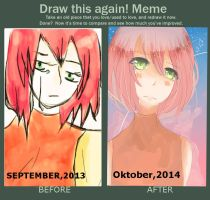 MEME BEFORE AND AFTER by Farahjuli