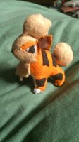 Tiny Growlithe plush by NerdLass