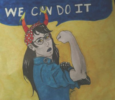 We can do it Vriska by 6turtles