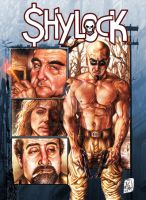 Cover for SHYLOCK issue 3 by RougeDK