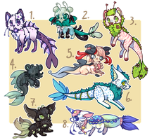 :Aquatic Designs for Auction(updating new owners): by PrePAWSterous