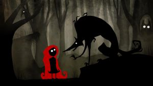 Little Red Riding Hood_limbo? by MadCheshCat