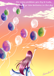 Balloons in the Sky by Haruka28