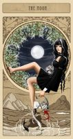 The moon by Diablera