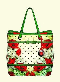 Tote Bag Design for Nine West by Nellista