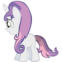 Sweetie Belle - Wet by Ocarina0fTimelord