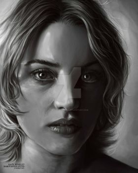 Kate Winslet by maggotsaid666
