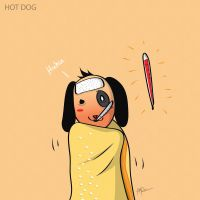 HOT dog by eamak