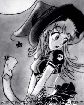 Novice Witch by PlasticDrawer