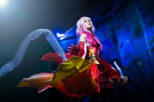Guilty Crown Inori Yuzuriha by random-pax