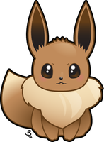 Eevee by krowsy-art